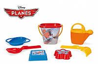 Набор для песка Самолетики Disney 7 элементов. Wader (77342)