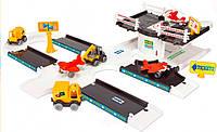 Игровой набор Kid Cars 3D - аэропорт  wader 53350 (53350)