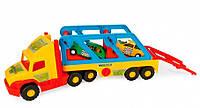 Игрушечный грузовик Super Truck с авто-купе 78 см Wader 36640 (36640)