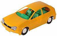 Игрушечная машинка авто-купе желтая, Wader (39001-4)