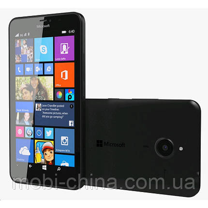 "Смартфон Microsoft Lumia 640 XL DS 8GB Black 5.7"", фото 2"