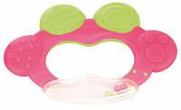 Погремушка-зубогрызка Жабка - 74/001 Canpol babies, розовая (74/001-2)