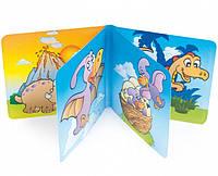 Книжка-пищалка мягкая Canpol Babies Цветная ферма 2/083, динозаврики (2/083-3)