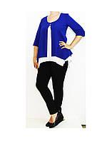Блуза шифоновая  для женщин Арт. 964 Разм.46-50