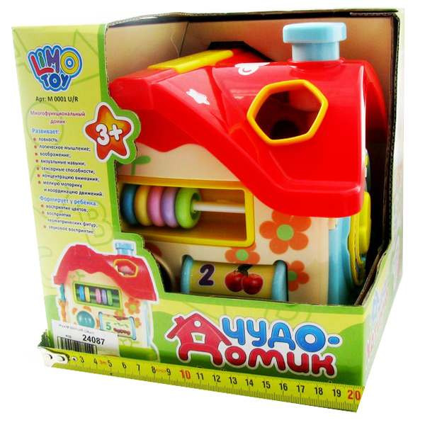 Сортер Домик Limo Toy m 0001 u/r