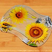 Тарелка 'Волна 2' 23*17,5 см Солнечный день