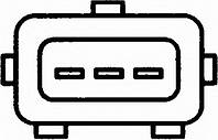 Датчик положення коленвалу audi 80 / a4 / a6 / cabriolet (8g7, b4) / (производство Behr-hella ), код запчасти: 6PU009110601