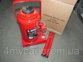 Домкрат бутылочный, 50т, красный H=285 / 465  (производство Дорожная карта ), код запчасти: JNS-50
