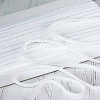 Тесьма 9 мм белая