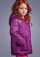 Куртка демісезонна для дівчинки Фіалка, фото 1
