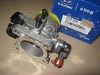 Дроссельная заслонка (производство Hyundai-KIA ), код запчасти: 3510026860