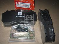 Колодка тормозная дисковая (компл. на ось) BPW, Daf XF95, Iveco, Mercedes Actros, SAF, Scania  (производство Дорожная карта ), код запчасти: DK
