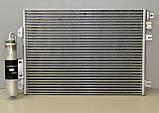 Радиатор охлаждения двигателя на Renault Kangoo 97->08 1.5dCi+1.2 16V+1.6 — Renault (Оригинал) - 8200757789, фото 3