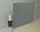 Радиатор кондиционера на Renault Kangoo 97->08 1.5dCi+1.2+1.4+1.6+1.9 — Renault(Оригинал) - 8200708130, фото 3