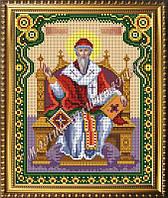 Схема для вышивания бисером Икона Святой Спиридон Тримифунтский