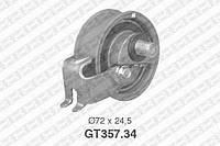 Натяжной ролик, ремень ГРМ Audi 06B109243A (производство NTN-SNR ), код запчасти: GT357.34