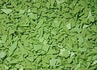 Шоколадные осколки Зеленые 1 кг.