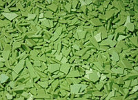 Шоколадные осколки Зеленые 250 грамм