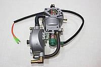 Карбюратор бензин-газ для двигателя садовой техники 9-15 л.с..