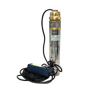 Глубинный погружной насос EUROAQUA 3 SKM 100 + контрольбокс