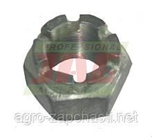 Корончатая гайка M36x1,5 молотильного барабана комбайна Claas