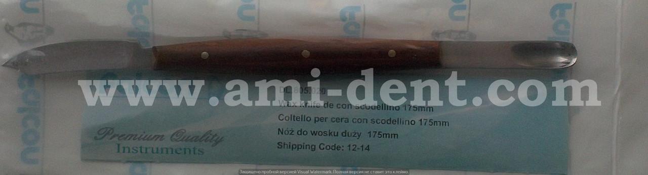 Нож-шпатель для воска 175 мм DL.805.020