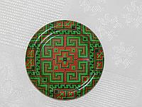 Крышка закаточная твист-офф размер 82 мм Вышиванка