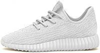 Женские кроссовки Adidas Yeezy Boost 350 All White, адидас