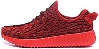 Женские кроссовки Adidas Yeezy Boost 350 Red, адидас