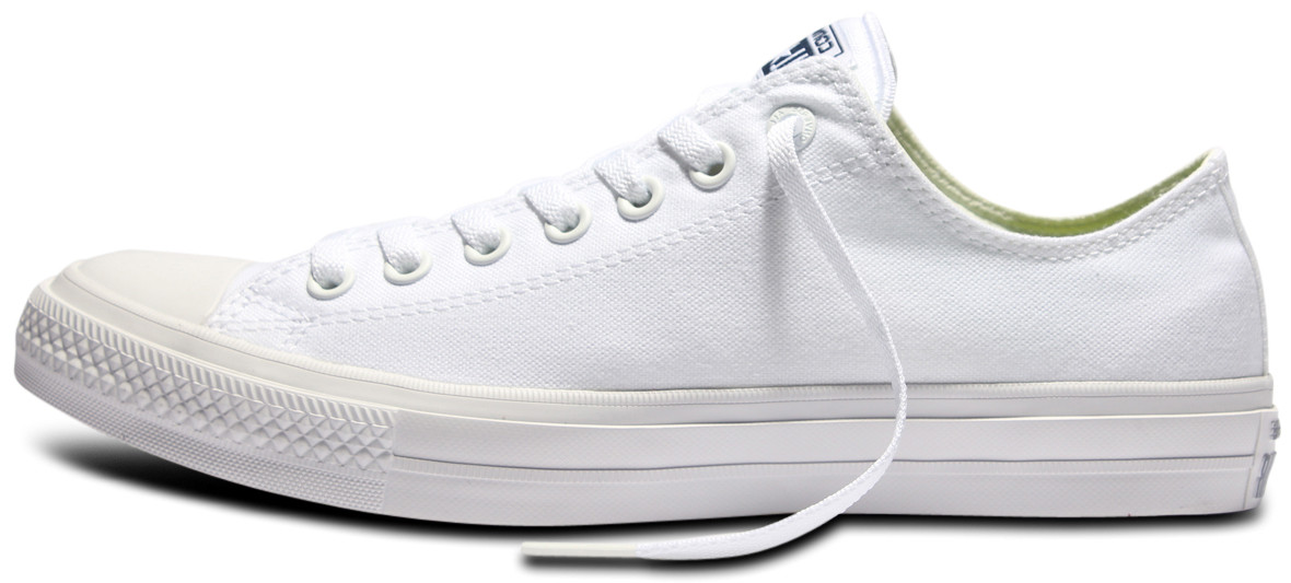 8017bb1f Женские кеды Converse Chuck Taylor All Stars II Low White (Оригинал) -  Интернет-