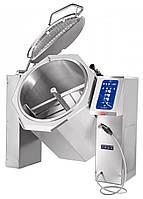Котел пищеварочный ABAT КПЭМ-350 ОМ2 с миксером и сливным краном