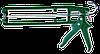 Пистолет для герметика скелетный пластмассовый FAVORIT