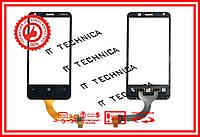 Тачскрин NOKIA Lumia N620 Черный ОРИГИНАЛ