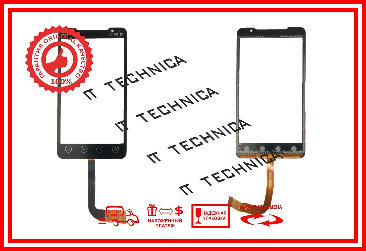 Тачскрин HTC EVO 4G Черный