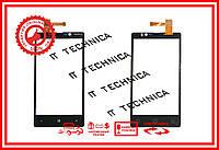 Тачскрин NOKIA Lumia N820 Черный ОРИГИНАЛ