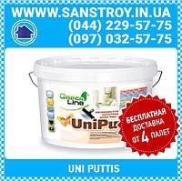 Высококачественная акриловая шпаклевка UNI PUTTIS 1,6 кг
