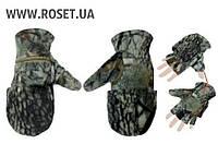 Тактические перчатки-варежки для снайпера