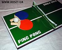 Детский настольный теннис - Table Tennis Real Ping Pong Action