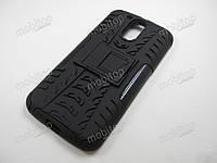 Чехол бронированный Motorola Moto G4 / G4 Plus (черный), фото 1