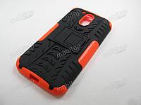 Чехол бронированный Motorola Moto G4 / G4 Plus (оранжевый), фото 1