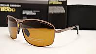 Мужские солнцезащитные очки Porsche Design 8993 коричневый цвет, фото 1