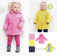 Демисезонная куртка для девочки Libellule (Baby Line) V 109-16 р.80 синий