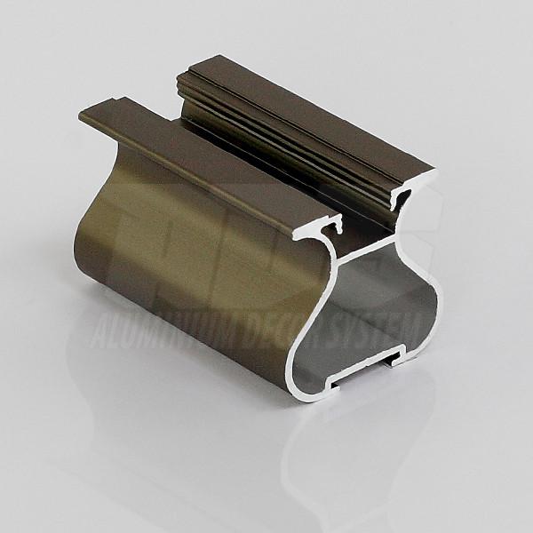 Профиль- ручка для раздвижной двери  Светлая бронза