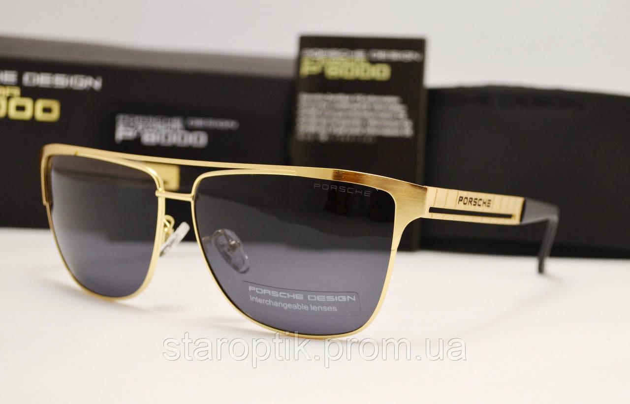 Мужские солнцезащитные очки Porsche Design 8529 золото, фото 1