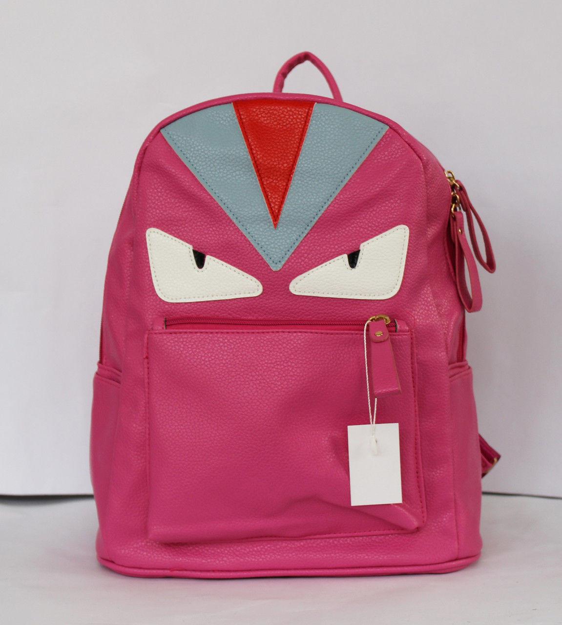 Оригінальний шкільний рюкзак з штучної шкіри