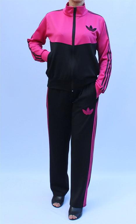 - спортивный костюм с воротником - малиновый верх -