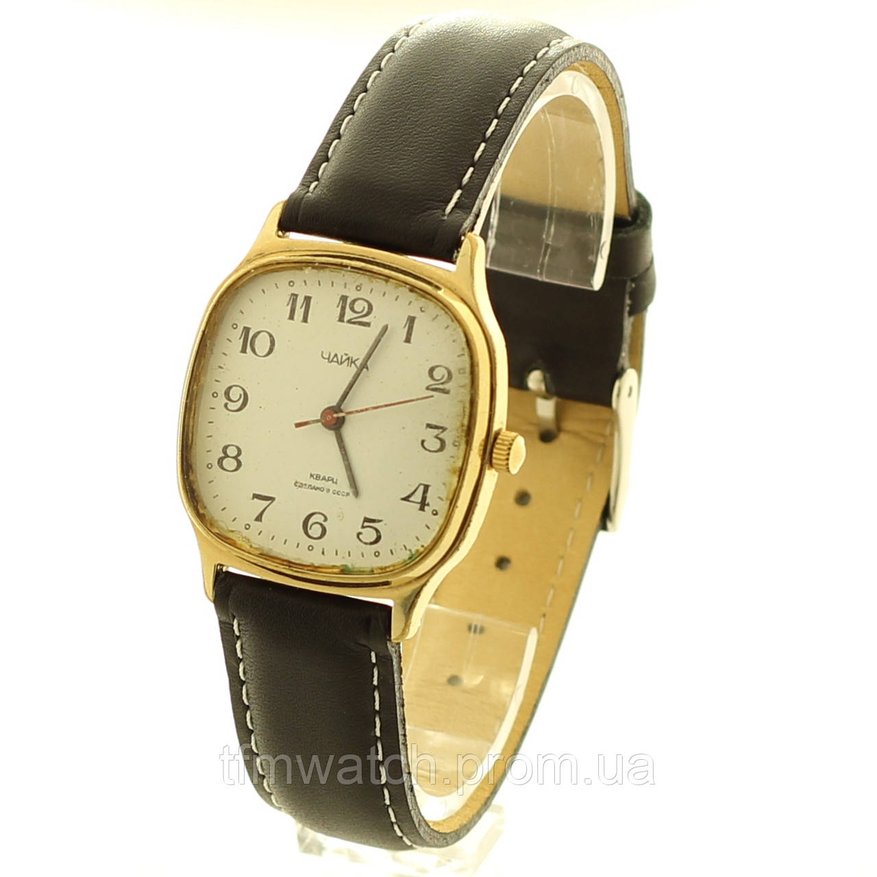 Наручные часы Чайка кварц СССР