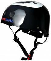 Шлем детский Kiddi Moto бильярдный шар, размер M 53-58см, чёрный (HEL-60-38)