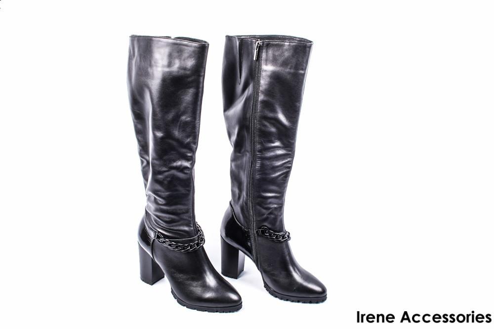 3e8fb2ccb Сапоги женские кожаные El Passo (ботинки высокие, байка) - Стильная обувь и  аксессуары
