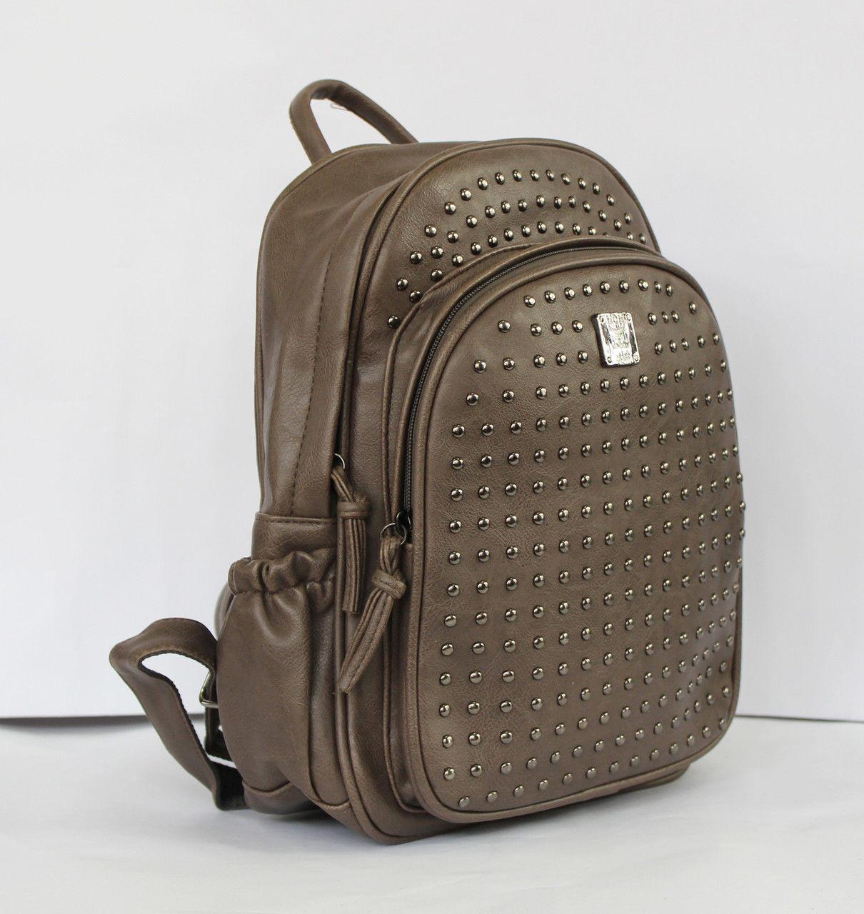 Рюкзак шкільний зі штучної шкіри в кольорах